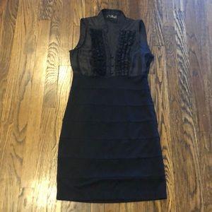 Dresses & Skirts - Ladies black mini dress medium